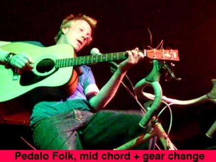 pedalo folk